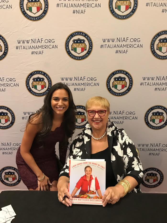 Lidia Bastianich book signing