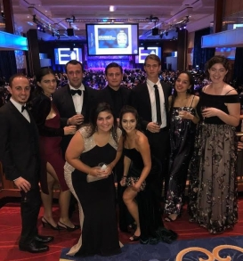 students at the NIAF gala weekend