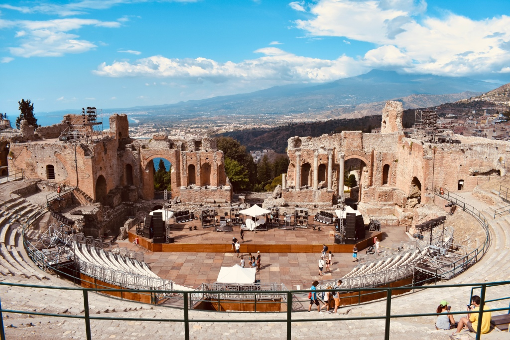 Taormina Greek Amphitheater